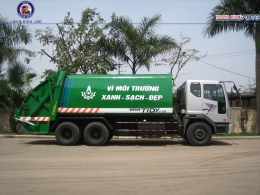 Xe ép rác Daewoo 20m3 (20 khối)