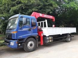 Xe tải gắn cẩu 3 - 5 tấn Thaco C160