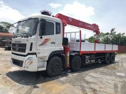 Xe tải gắn cẩu tự hành 12 tấn [đang cập nhật giá xe tải gắn cẩu 12 tấn 2022]
