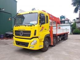 Xe tải gắn cẩu tự hành 15 tấn [đang cập nhật giá xe tải gắn cẩu 15 tấn 2022]