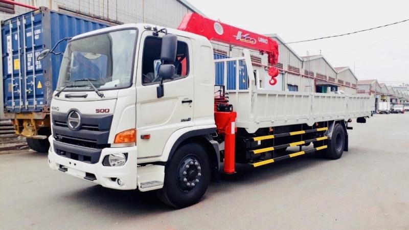 Xe tải gắn cẩu tự hành 5 tấn [đang cập nhật giá xe tải gắn cẩu 5 tấn 2022]
