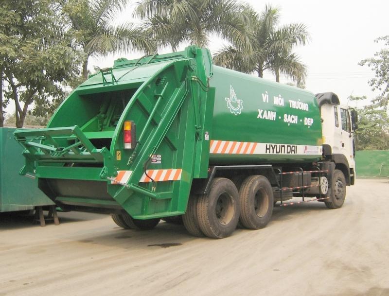Xe ép rác Hyundai HD260 20m3 - 22m3
