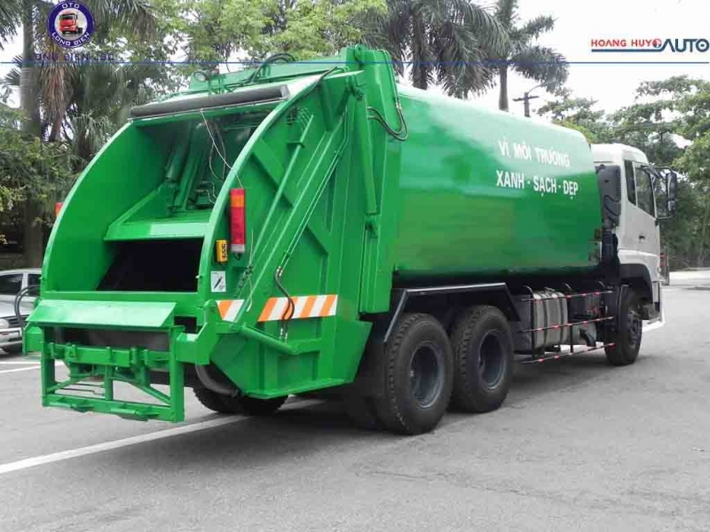 Xe ép rác Dongfeng 20m3 -22m3 mới 2020
