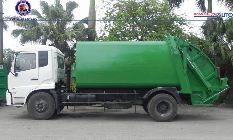 Xe ép rác Dongfeng 14 khối (14m3) mới 2020