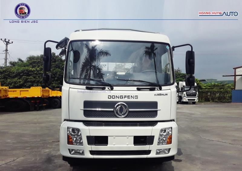 Xe tải dongfeng 9 tấn thùng 7m5 Hoàng Huy 2021