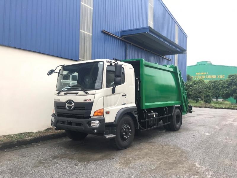 Xe ép rác Hino FG 12 khối (12m3) - 14 khối (14m3)