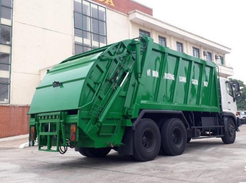 Xe ép rác Hino FM 20m3- 22m3
