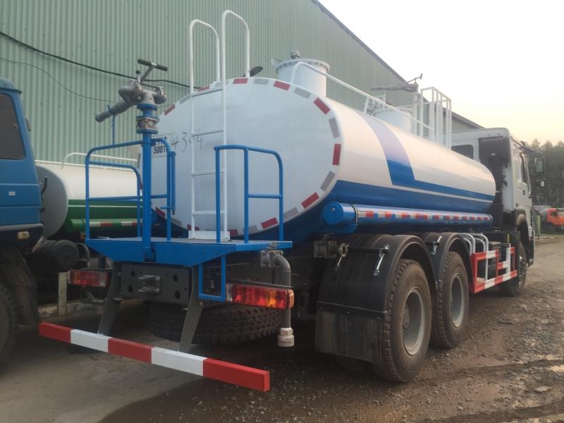 Xe phun nước rửa đường Howo 3 chân 12m3 -14m3