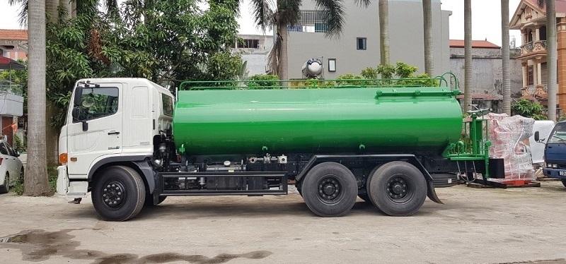 Xe phun nước rửa đường Hino 14m3- 15m3