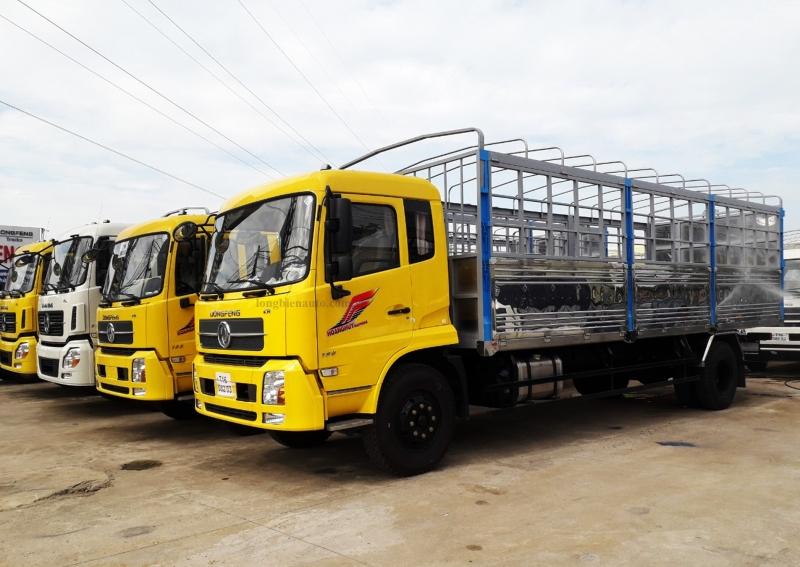 Giá bán xe tải Dongfeng thùng mui bạt Hoàng Huy 2021