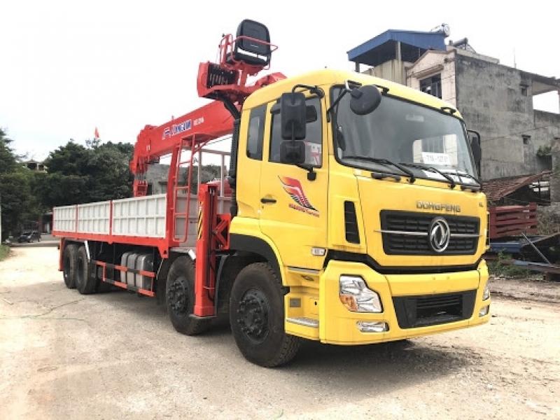 Xe tải gắn cẩu 8 tấn, giá xe tải gắn cẩu tự hành 8 tấn 2021 mới nhất