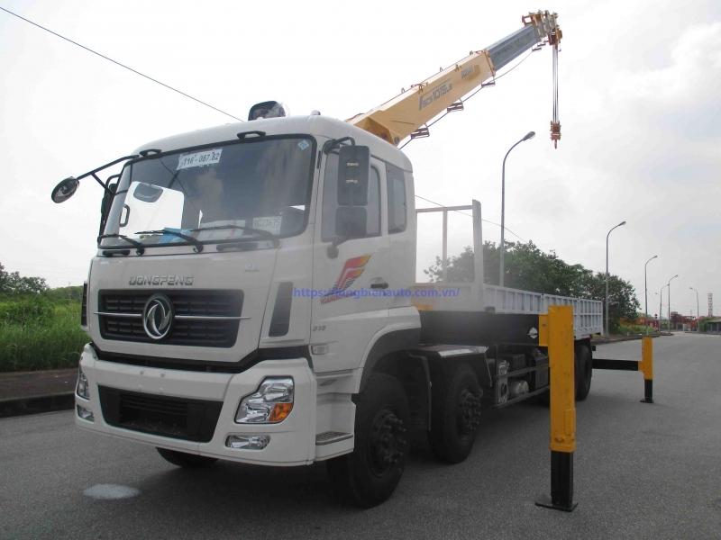Xe tải gắn cẩu tự hành 10 tấn Mới nhất 2021