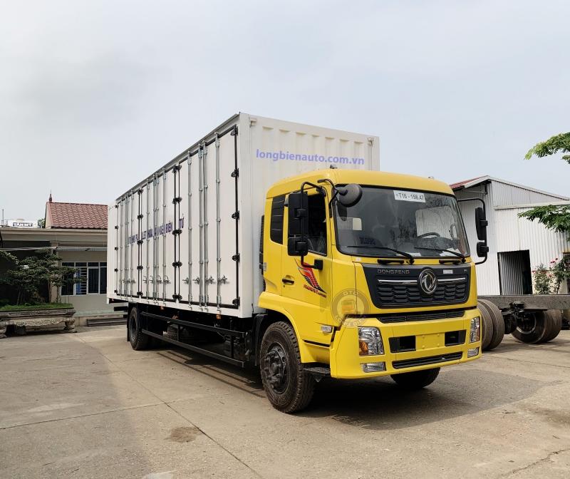 Xe tải dongfeng 7 tấn thùng container dài 9m7 mới nhất